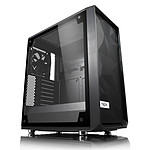 Fractal Design Meshify C Tempered Glass Clear Black