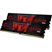 G.Skill Aegis (2x8Go) DDR4 3000 MHz Black Red