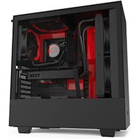 Nzxt H510i Midi Tower Black, Red, Châssis mini tour