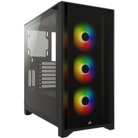 Corsair iCUE 4000X RGB Black Avec Window